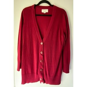 Avenue Sweater Collection Cardigan 18/20 Red